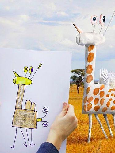 Imajinasi anak dijadikan realita