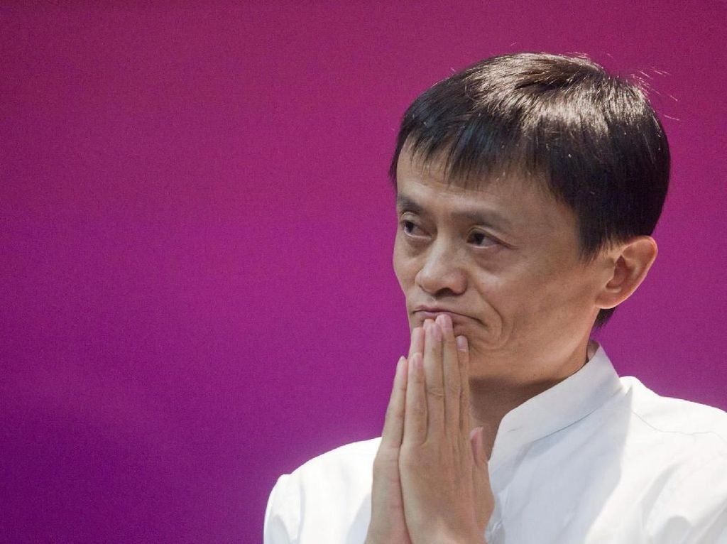 Jack Ma Pensiun, Saham Alibaba Turun