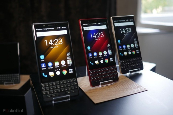 Ilustrasi ponsel BlackBerry. Foto: Pocket Lint