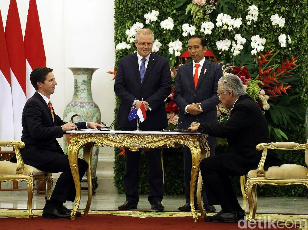 Negosiasi Rampung, RI-Australia Sepakat Kerja Sama Ekonomi