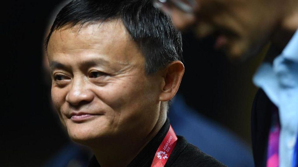 Momen-Momen Jack Ma di Final Sepakbola Putri Asian Games 2018