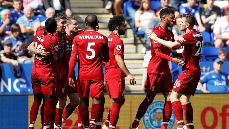 Hasil Liga Inggris: Liverpool Sukses Curi Poin Dengan Menang 2-1 di Markas Leicester