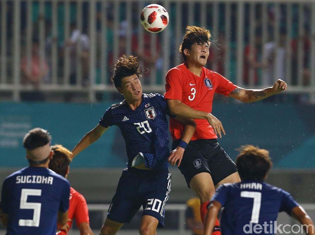 Taklukkan Jepang 2-1, Korsel Raih Emas Asian Games 2018