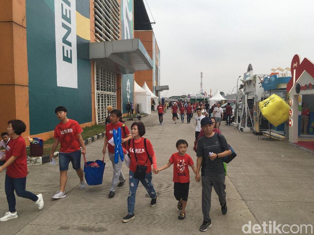 Laga Timnas Korsel di Asian Games Selalu Ramai Penonton
