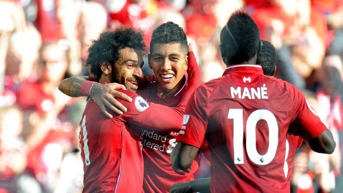 Liverpool di Liga Inggris. (Foto: Peter Powell/Reuters)
