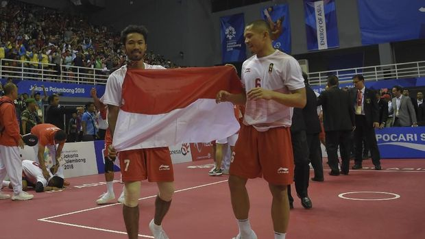Indonesia menorehkan prestasi di Asian Games 2018. (