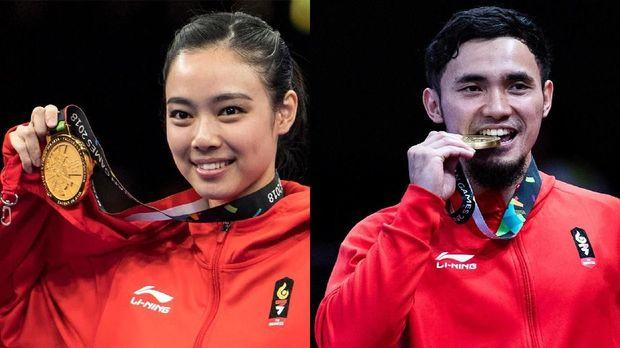 Hubungan antara Lindswell Kwok dan Achmad Hulaefi semakin terang benderang pada ajang Asian Games 2018. (