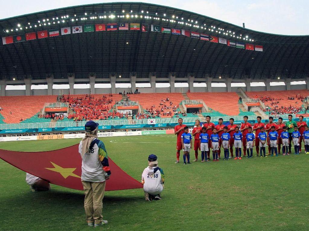 Sepakbola Vietnam Sudah di Papan Atas Asia
