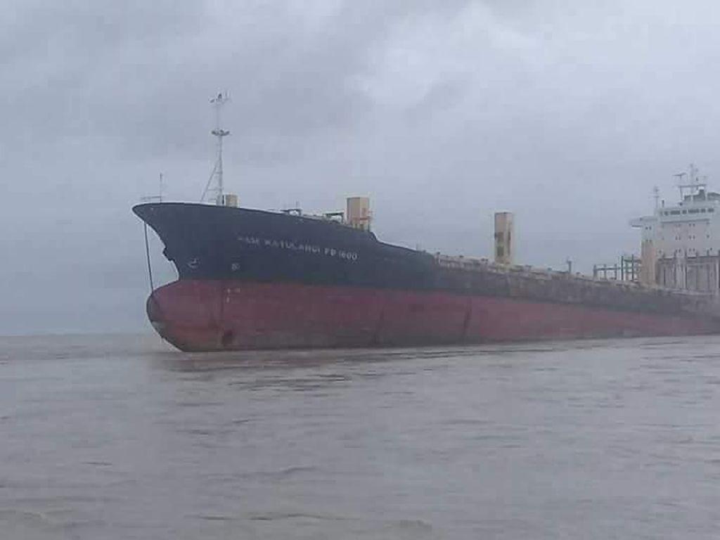 Ini Wujud Kapal Hantu Berbendera RI yang Ditemukan di Myanmar