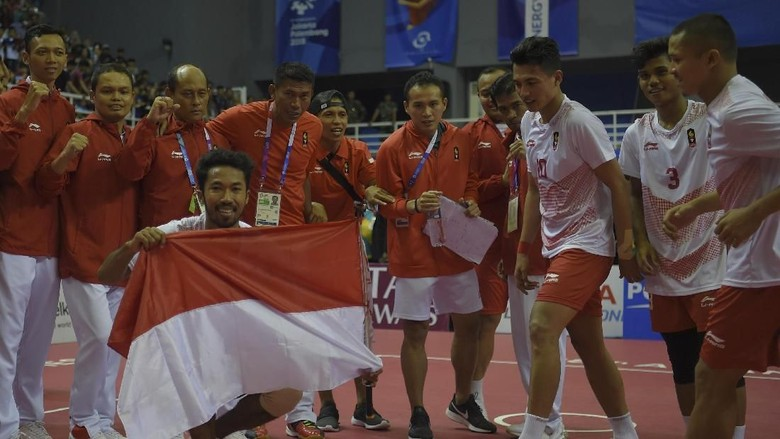 Sepak Takraw Tambah Emas Indonesia di Asian Games 2018