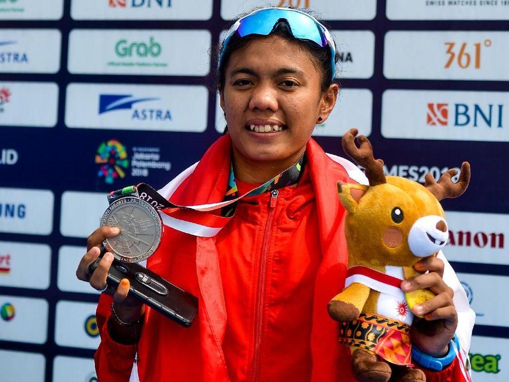 Riska Andriyani Raih Medali ke-94 Indonesia di Asian Games 2018