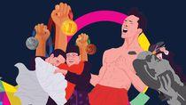 Dari Aksi Stuntman Jokowi sampai Selebrasi Jojo