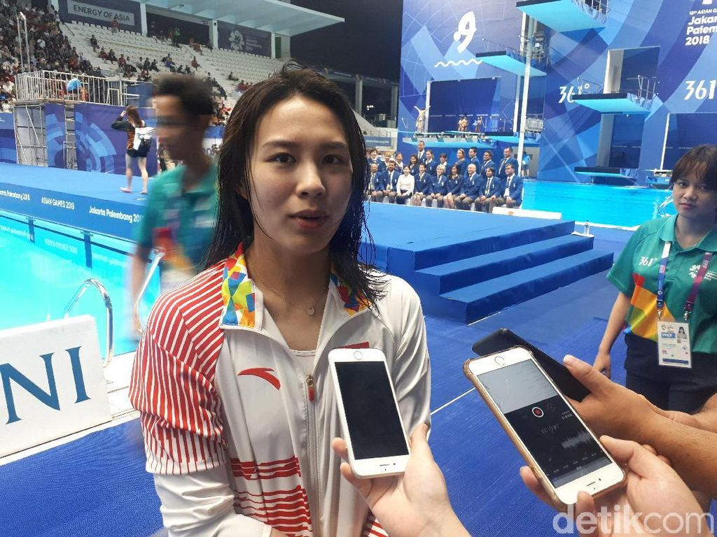 Dua Atlet China Ini Tak Sempat Jalan-Jalan, tapi Terkesan Suasana Jakarta