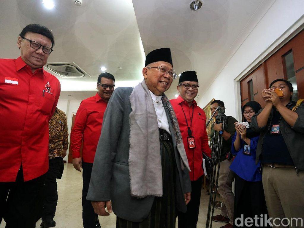 Maruf Amin Angkat Topi untuk Tagar 2019 Prabowo Presiden