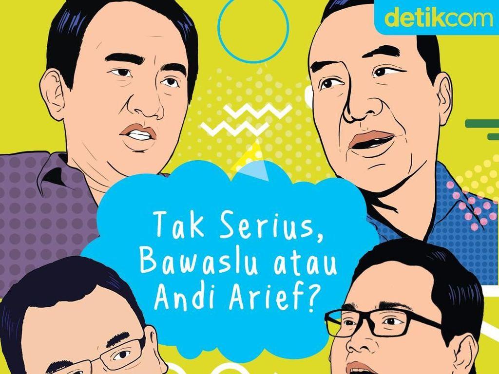 Andi Arief - Bawaslu, Siapa Tak Serius Soal Mahar?