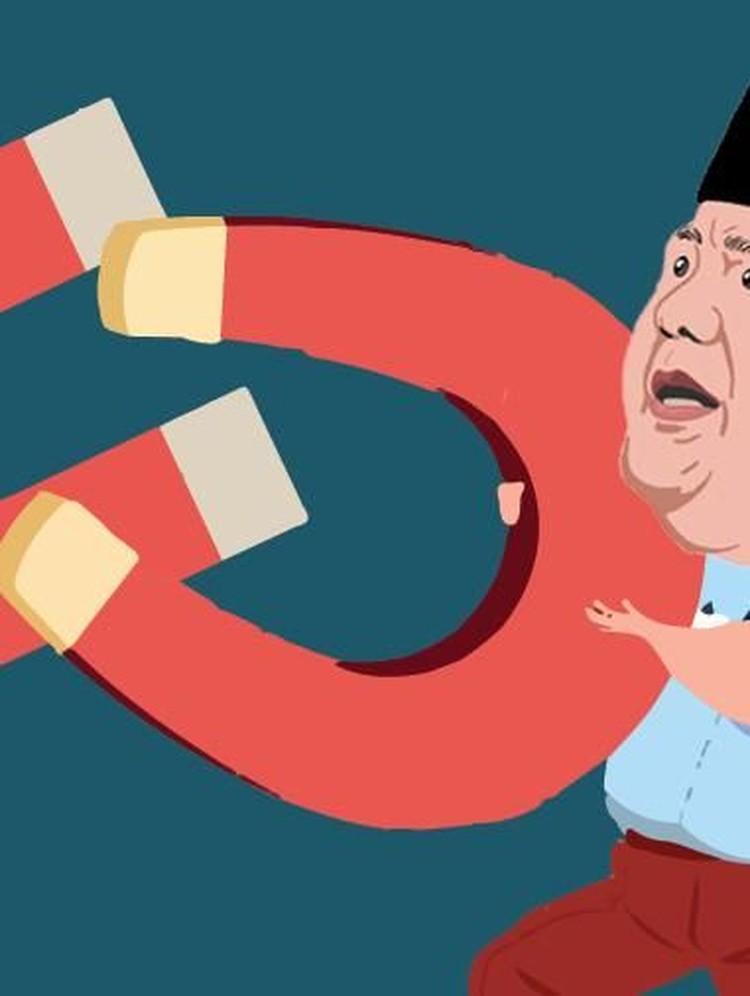 Saling Bajak Kubu Jokowi Vs Prabowo
