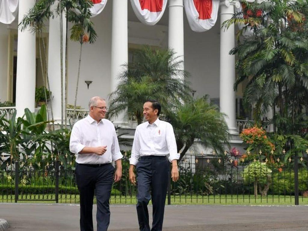 PM Australia Scott Morrison Akan Hadiri Pelantikan Jokowi