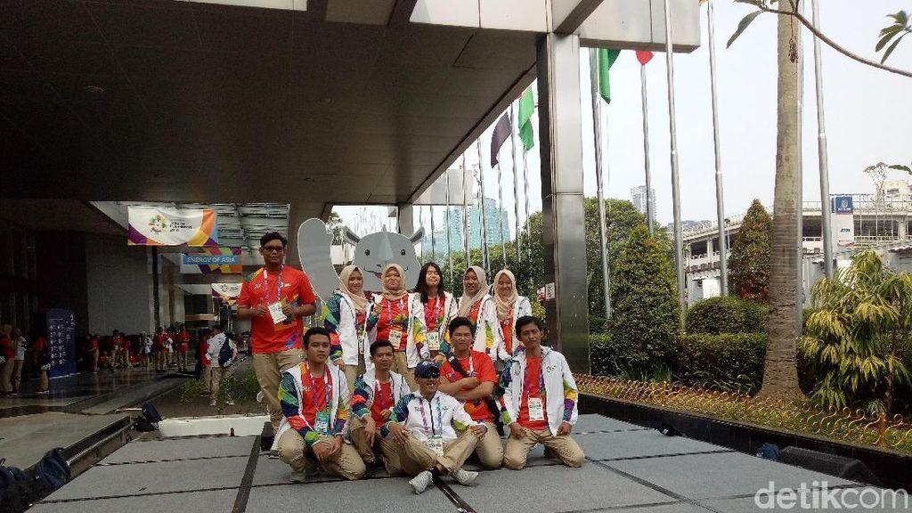 Asian Games 2018 Bakal Berakhir, Saatnya Para Relawan Berpisah