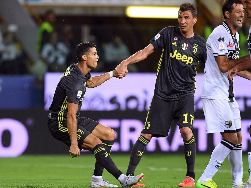 Hasil Liga Italia: Juventus Tundukkan Parma 2-1