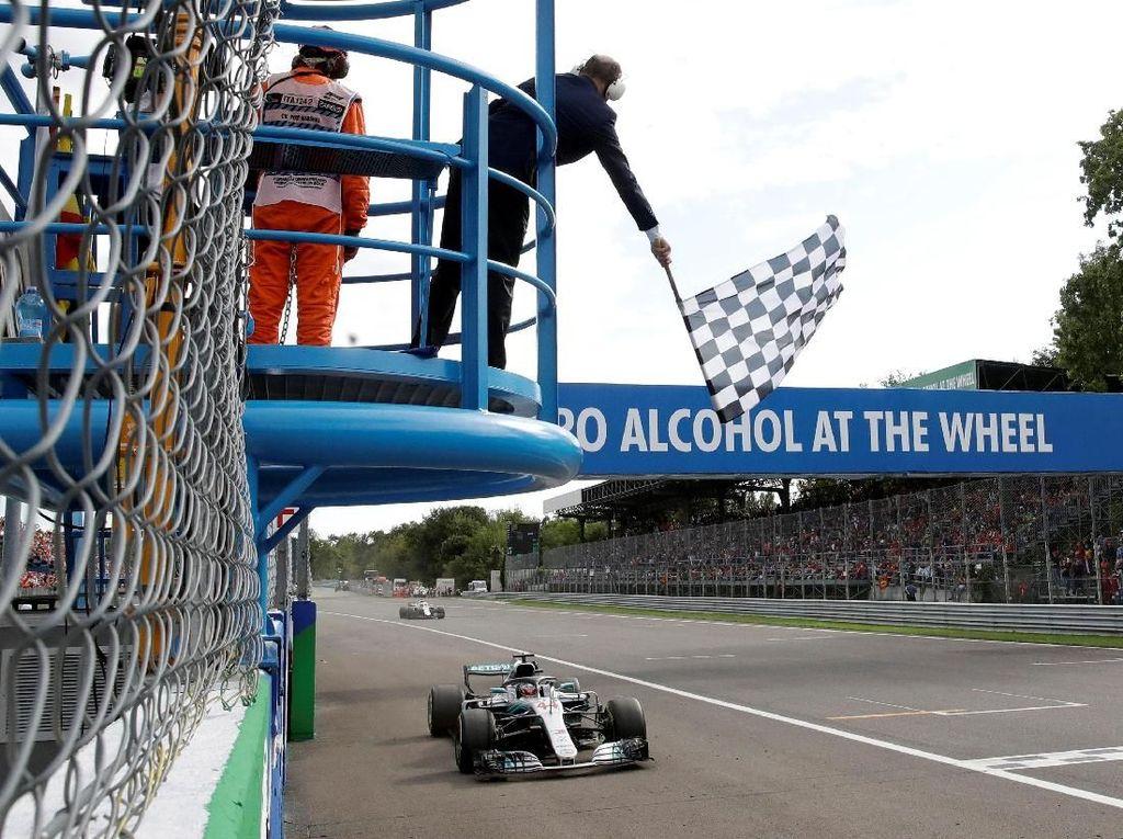 Hasil GP Italia: Hamilton Juara, Raikkonen Kedua