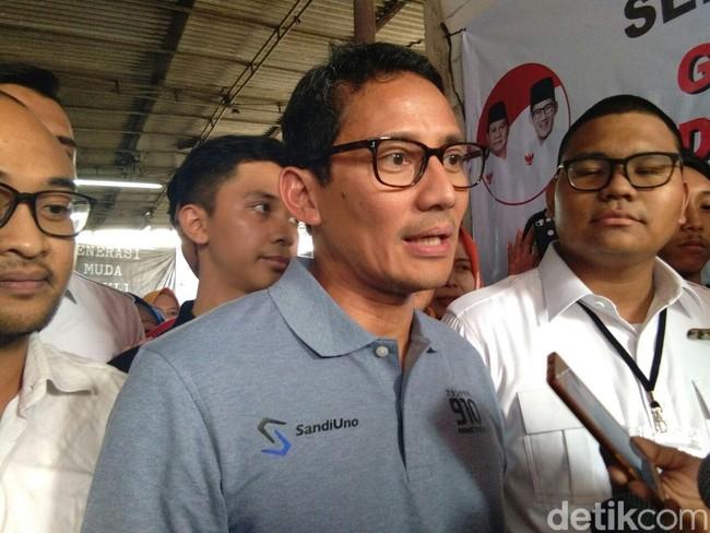 Asian Games Sukses, Sandiaga Ucapkan Selamat ke Jokowi hingga Anies