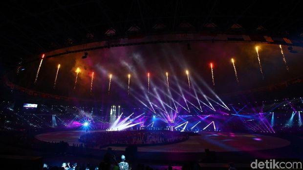 Penutupan Asian Games 2018, Indonesia sukses sebagai tuan rumah dan prestasi.