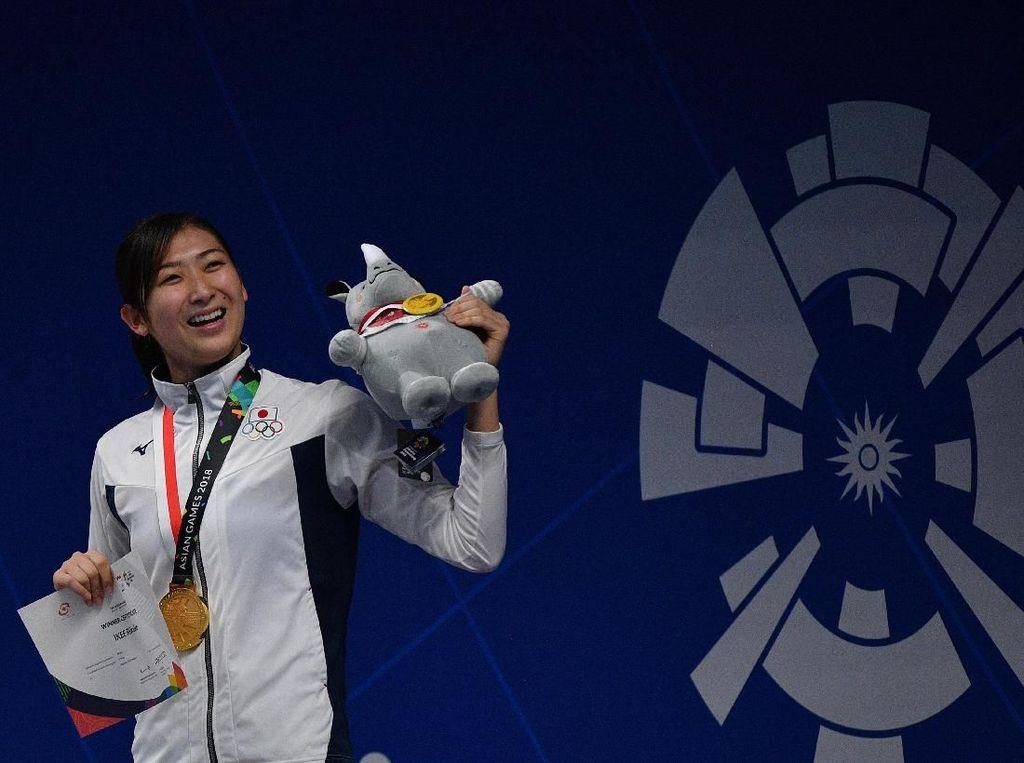 Perenang Jepang Dinobatkan Jadi Atlet Terbaik Asian Games 2018