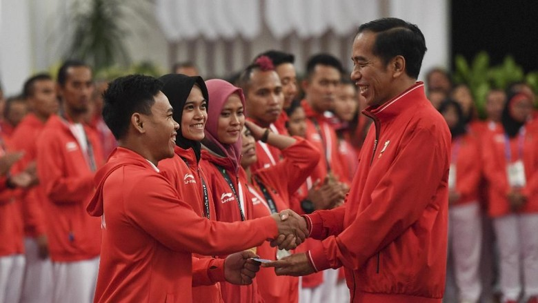 Tak Hanya Atlet, Jokowi Juga Beri Bonus ke Pelatih dan Asisten