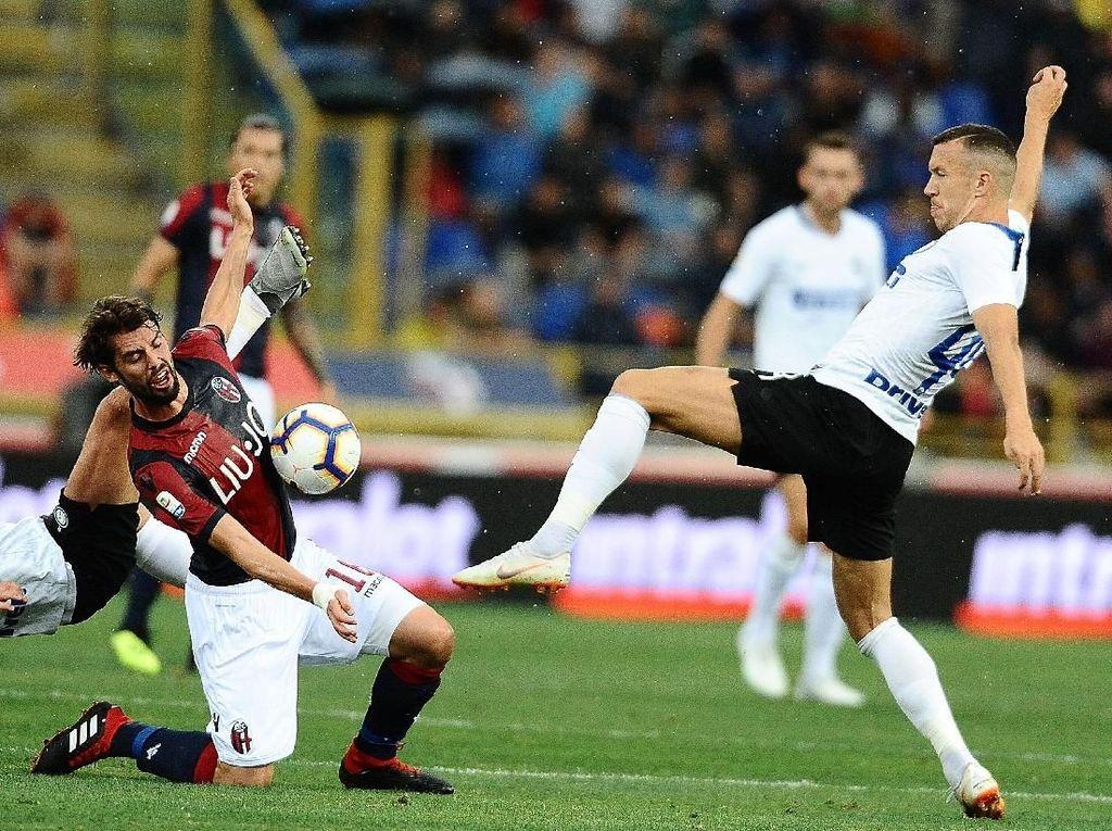 Hasil Liga Italia: Kalahkan Bologna, Inter Rebut Kemenangan Perdana