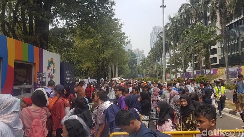 Jelang Penutupan Asian Games, Sudah 21 Ribu Tiket Festival Terjual
