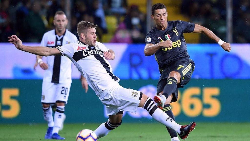 Juventus Lanjutkan Tren Kemenangan, tapi Ronaldo Tak Cetak Gol Lagi