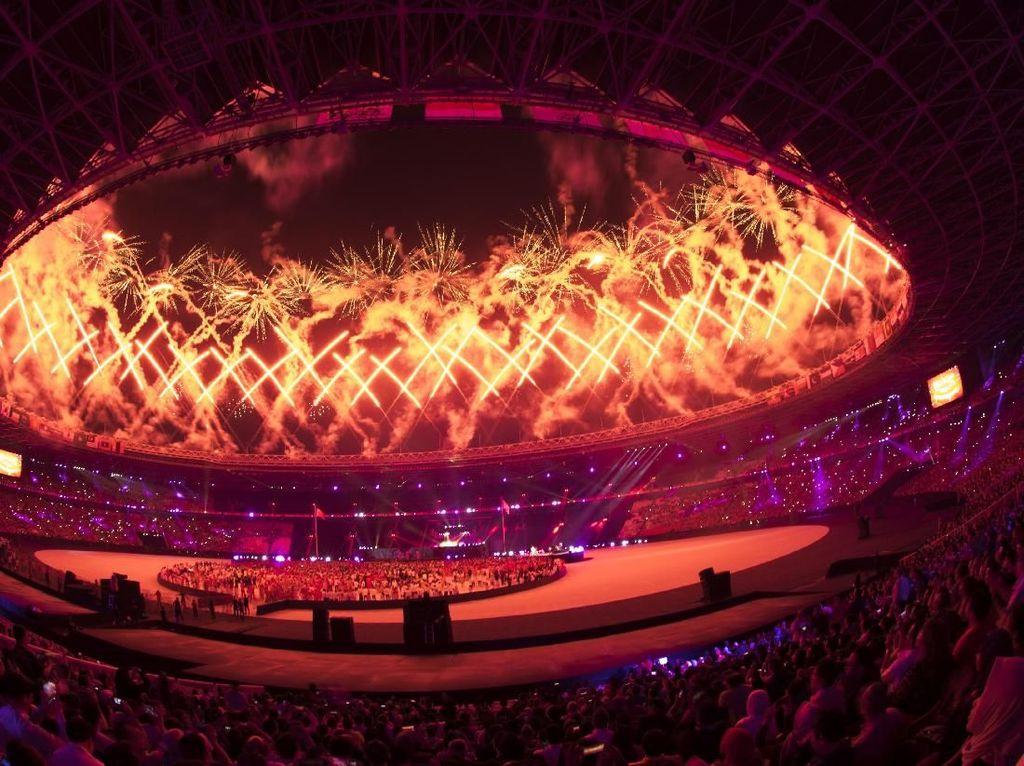 Foto: Melihat Lagi Momen Menarik di Closing Asian Games