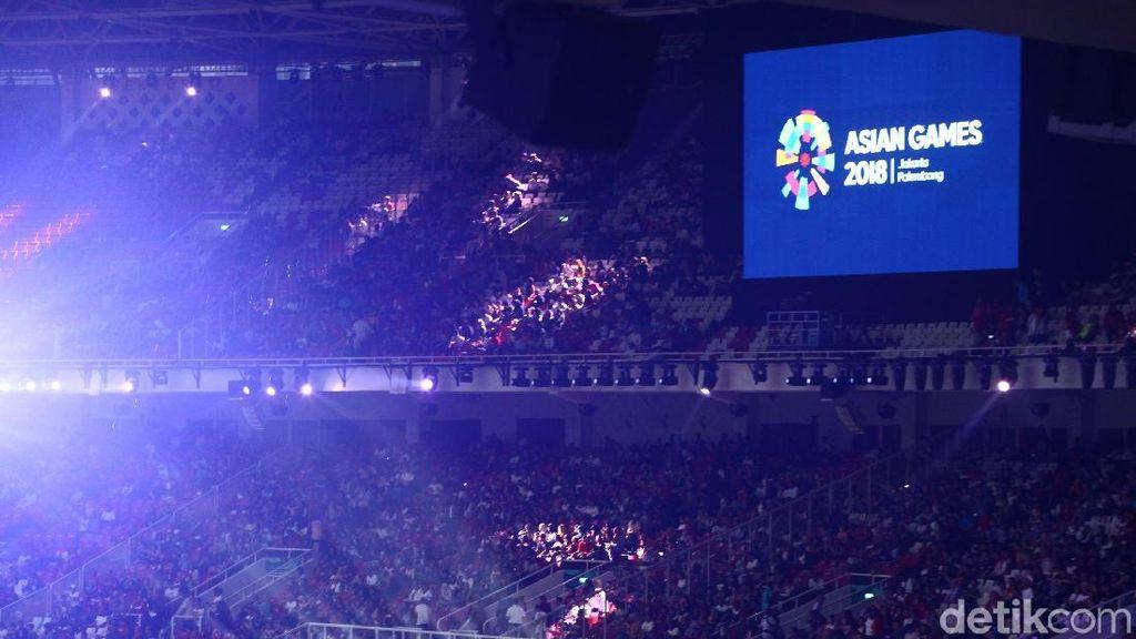 Aksi Pencak Silat Awali Rangkaian Penutupan Asian Games 2018