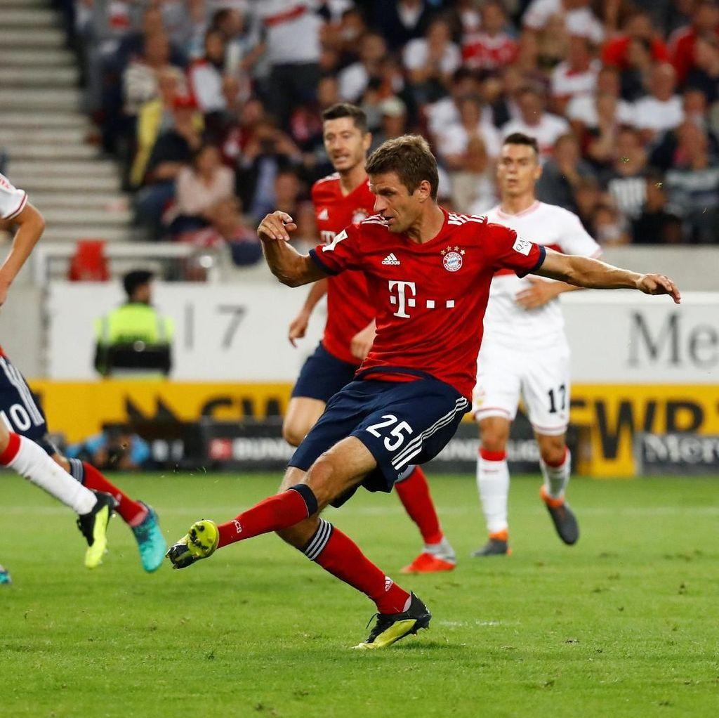 Hasil Liga Jerman: Bayern Hajar Stuttgart 3-0