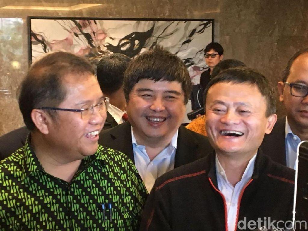 Bertemu dengan Menteri Jokowi, Ini yang Dibahas Jack Ma