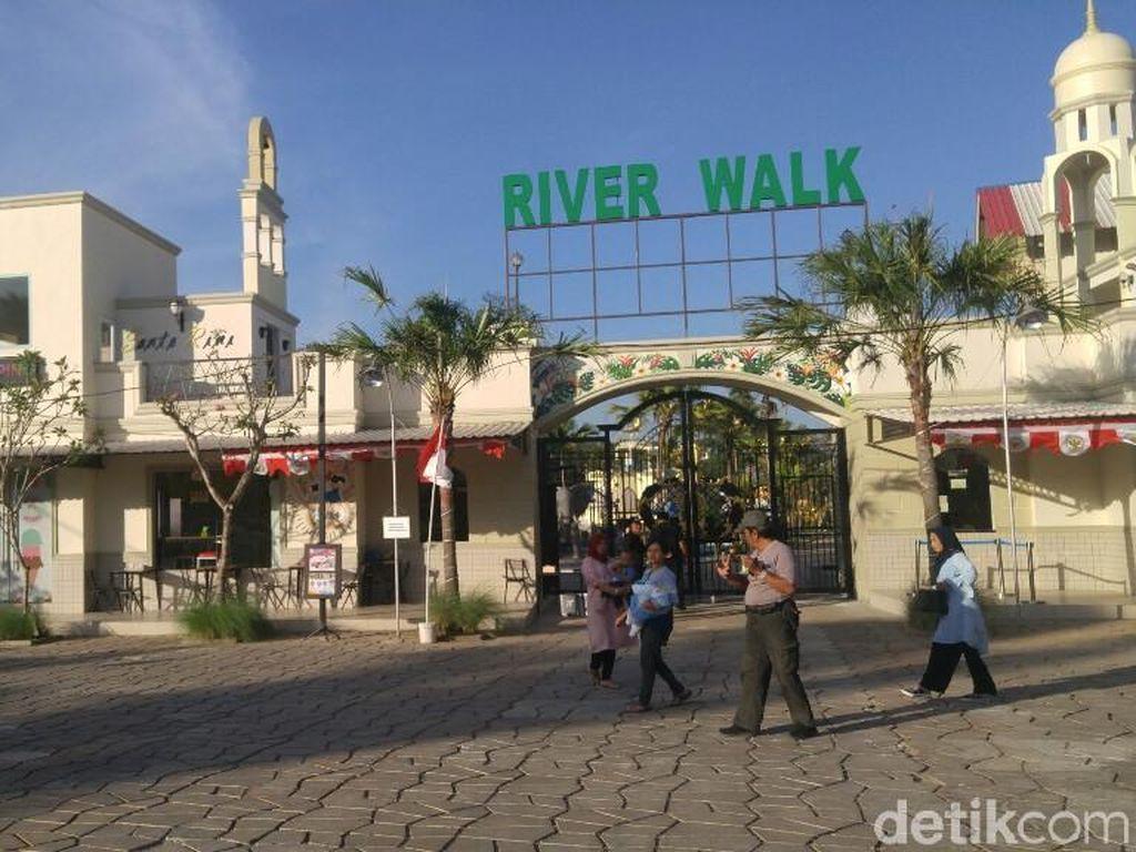 Foto: River Walk, Destinasi Keluarga Kekinian di Kendal