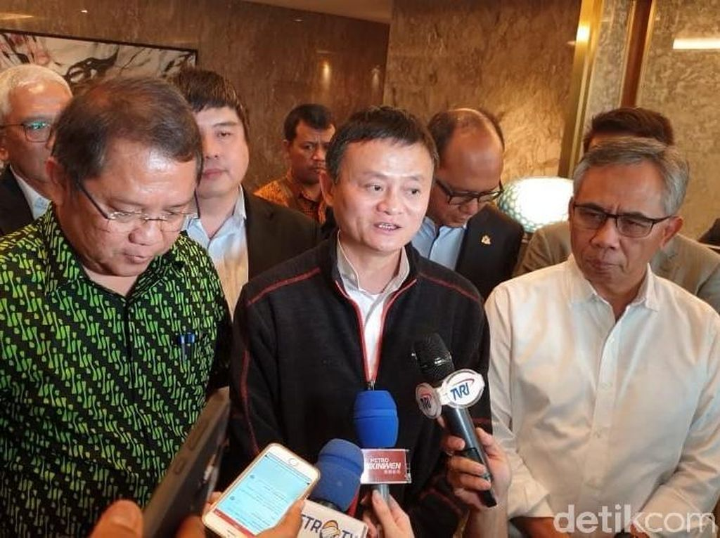 Jack Ma Beri Saran untuk Pemerintah Jokowi, Ini Isinya