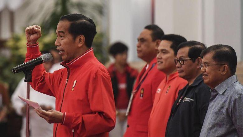 Dapat 31 Emas, Jokowi Sempat Deg-degan Saat Tetapkan Target Medali