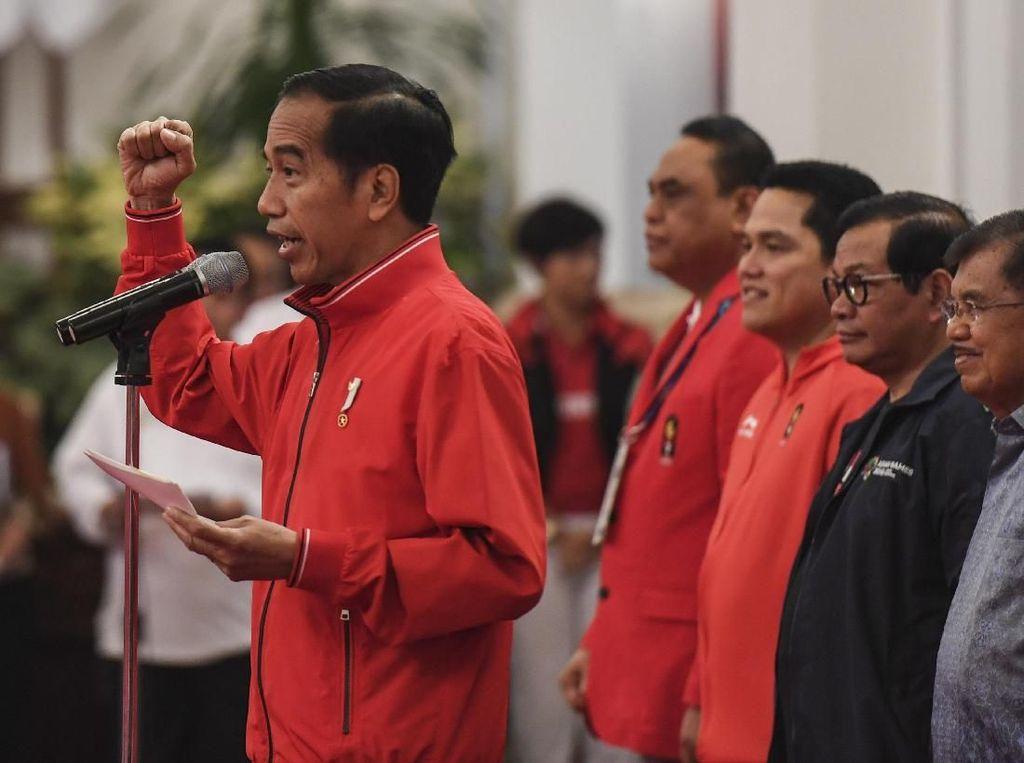 Diundang PSSI Tonton Indonesia Vs Malaysia, Jokowi Tak Bisa Hadir