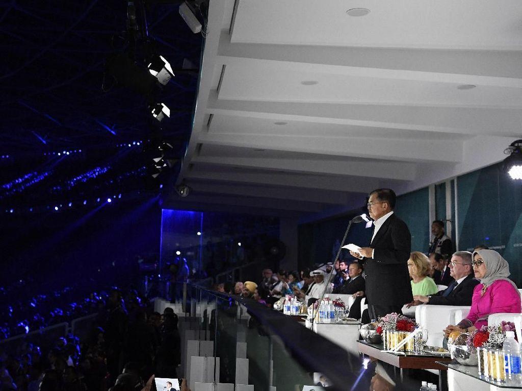 Pidato Closing Ceremony Asian Games 2018, JK Minta Maaf Soal Tiket