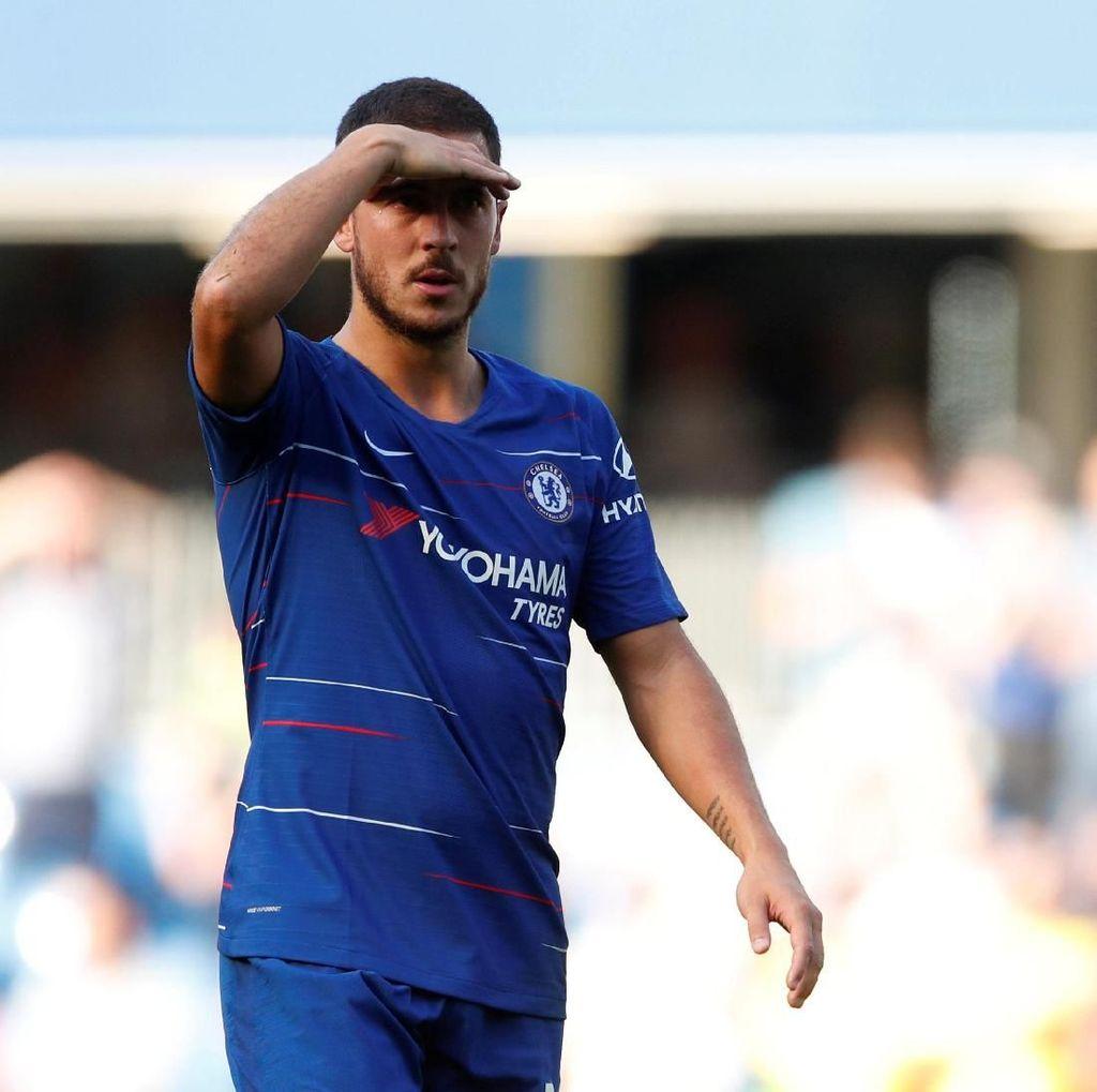 Hazard Ingin Bekerja Sama dengan Mourinho Lagi