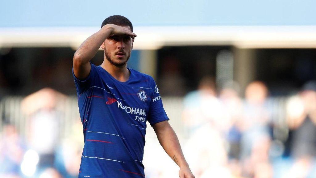 Chelsea Tahan Impian Hazard ke Madrid?