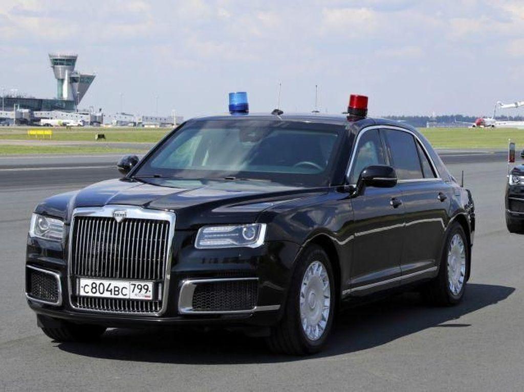 Mobil Presiden Putin Bikin Bos Mercy Kagum