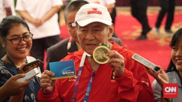 Michael Bambang Hartono menerima bonus Rp250 juta setelah mendapat perunggu di Asian Games 2018. (