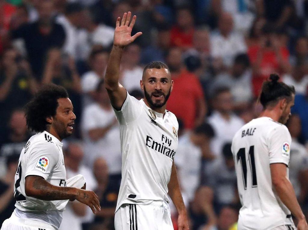 Benzema Bersinar, Madrid Masih Sempurna