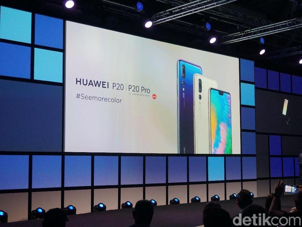 Empat Varian Baru Huawei P20 Pro Sapa Berlin