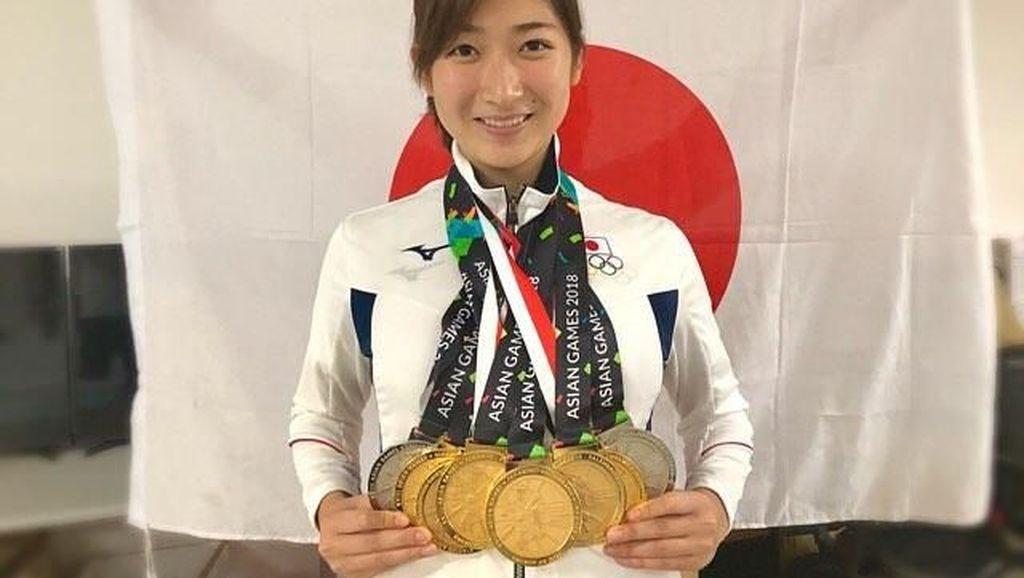 Liburan Atlet Peraih Medali Emas Terbanyak di Asian Games, Rikako Ikee