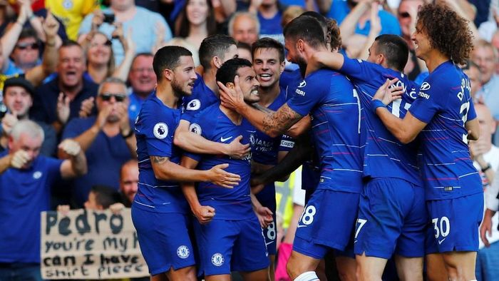 Chelsea harus menunggu hingga menit ke-72 untuk mencetak gol pertama ke gawang Bournemouth (Foto: Eddie Keogh/Reuters)