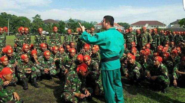 Kim Daeng betah di Indonesia karena kerap menjadi pelatih bela diri yongmoodo.