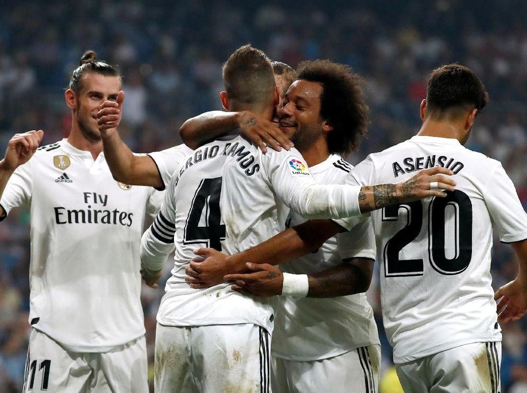 Hasil Liga Spanyol: Real Madrid Hantam Leganes 4-1